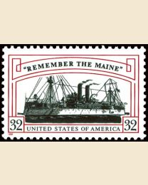 #3192 - 32¢ Remember the Maine