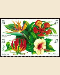 #3310S - 33¢ Tropical Flowers