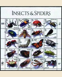 #3351 - 1999 Insects & Spiders