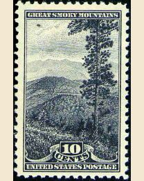#749 - 10¢ Great Smoky Mountains.