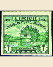 # 766a - 1¢ Ft. Dearborn