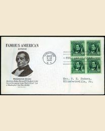 # 859 - 1¢ W. Irving: FDC