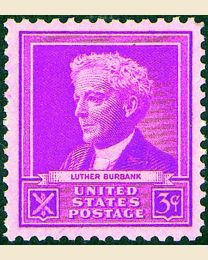 # 876 - 3¢ Luther Burbank