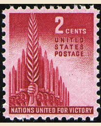 # 907 - 2¢ Allied Nations