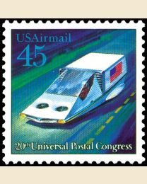 #C123 - 45¢ Hover Car