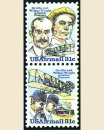 #C91S- 31¢ Wright Brothers