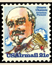 # C93 - 21¢ Octave Chanute
