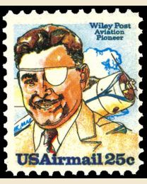 # C95 - 25¢ Wiley Post