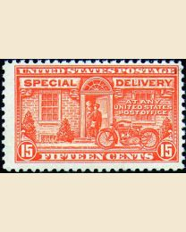 # E13 - 15¢ Motorcycle Delivery