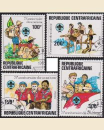 Central African Rep #497-500