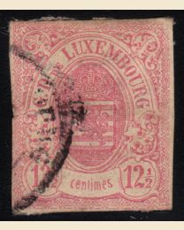 Luxembourg # 8 - Used, F