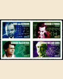 #3906S- 37¢ American Scientists