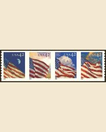 #4232S- 42¢ Flags