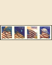#4236S- 42¢ Flags