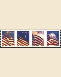 #4240S- 42¢ Flags