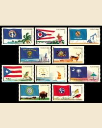 #4313S- (44¢) Flags (5) N. Marianas - Tennessee