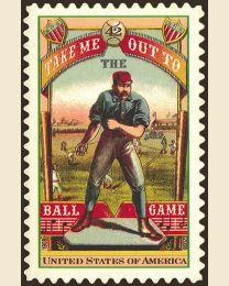 #4341 - 42¢ Take Me Out to the Ball Game