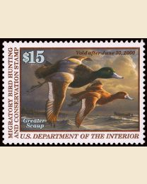 #RW66 - $15 Greater Scaup
