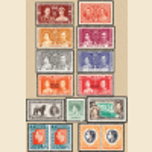 1937 King George VI Coronation Album Collection