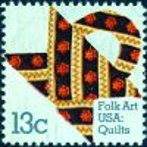 #1745 - 13¢ Flower Design