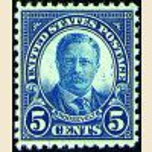 #637 - 5¢ T. Roosevelt
