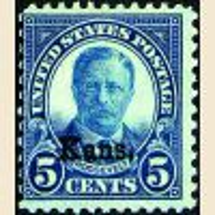 # 663 - 5¢ Theodore Roosevelt