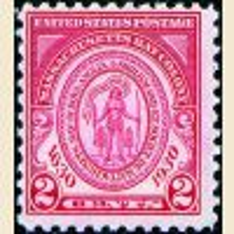 #682 - 2¢ Massachusetts Bay Colony