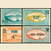 WWII Surcharges #164-67