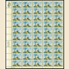 10 Diff 6¢ US Sheets