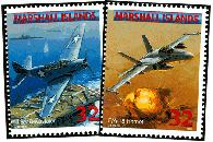 U.S. Navy Aircraft Mint Sheet of 25