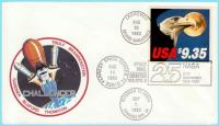 Challenger Space Shuttle Flight Cover
