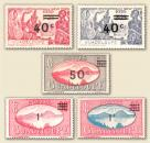 Guadeloupe World War II Surcharges