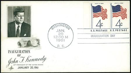 1961-john-f-kennedy-inaugural-cover
